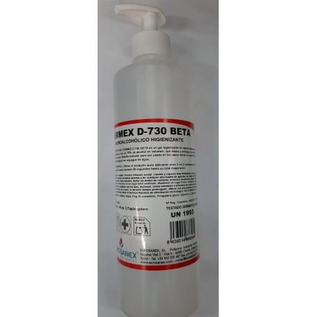 Gel Hidroalcohólico Higienizante DERMEX 730 -500 ml