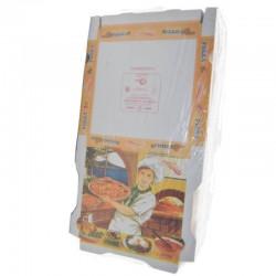 100 Cajas de Pizza Cartón 260x260x35