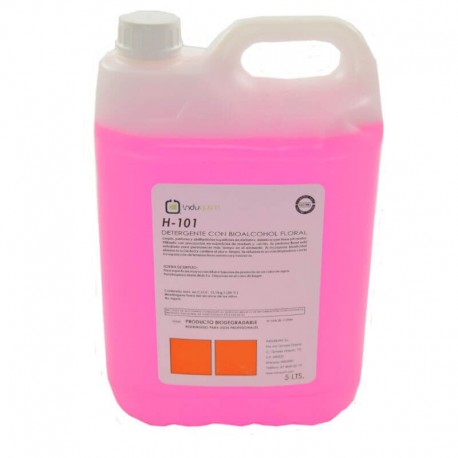 Detergente BIOALCOHOL Floral Ph Neutro Profesional 5 Litros