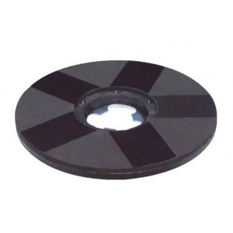 """Disco Portapad con Velcro - Accesorio Rotativa Monodisco 17"""""""