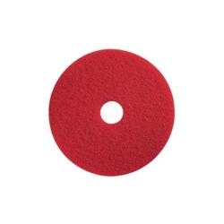 """Disco de Fibra Rojo 17 """" para Máquina Rotativa"""