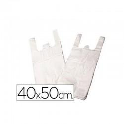 Bolsas de Camiseta 40x50 -  Hielo con Asas - Paquete 1Kg