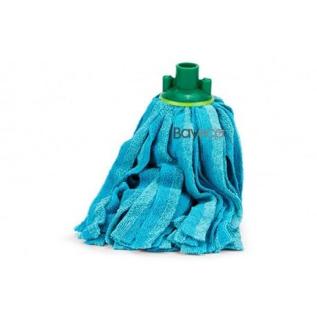 Comprar Fregona Microfibra Bayeco de Tiras Azul 150 grs