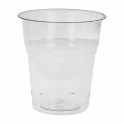 Vasos compostables 200 ml Transparentes (Caja 1500 unds.)