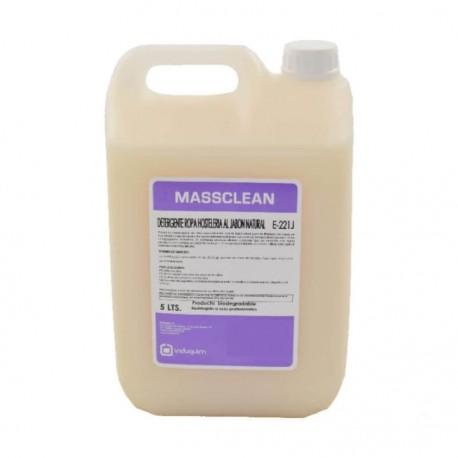 Detergente Jabón Ropa Industrial NATURAL5 Litros