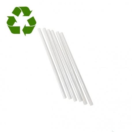 Comprar Pajitas Rectas Biodegradables PLA Transparente