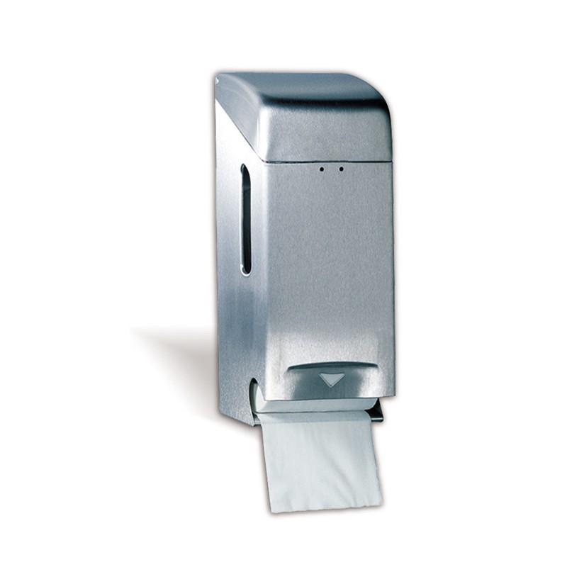 Portarollos de 2 rollos papel higienico acero inox calidad for Papel de empapelar precios
