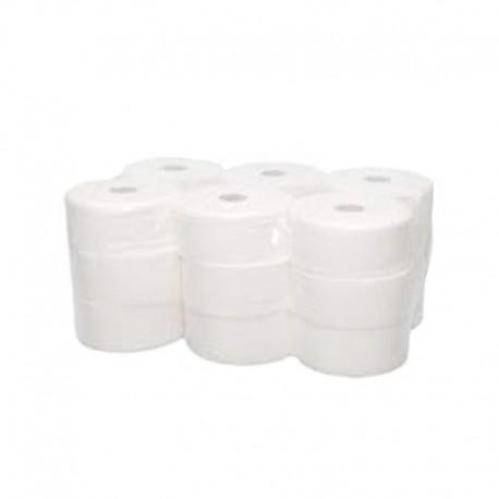 Comprar Paquete 18 Rollos Papel Higiénico PASTA CELULOSA Industrial 45 mm