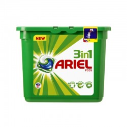 Ariel Detergente Lavadora (24 capsulas)