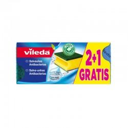 Estropajo Salvauñas Vileda 3 unds.
