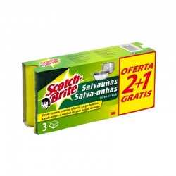 Salvauñas Scotch-Brite 3 unds