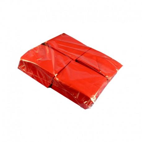 6000 servilletas de Cocktail 20x20 cm ROJAS (2 hojas o capas)