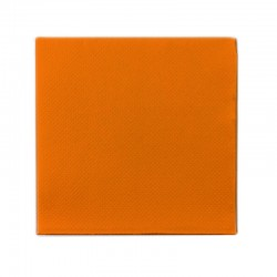 Serv. 40x40 Micropunto Naranja (2 Hojas)