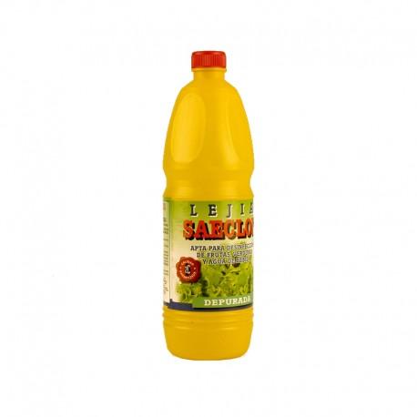 15 botellas de Lejia Alimentaria 50 Grs.