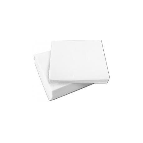 Servilletas de Papel  30x30 Blancas 1 Hoja