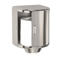Dispensador Bobinas Papel Mecha Acero Inox